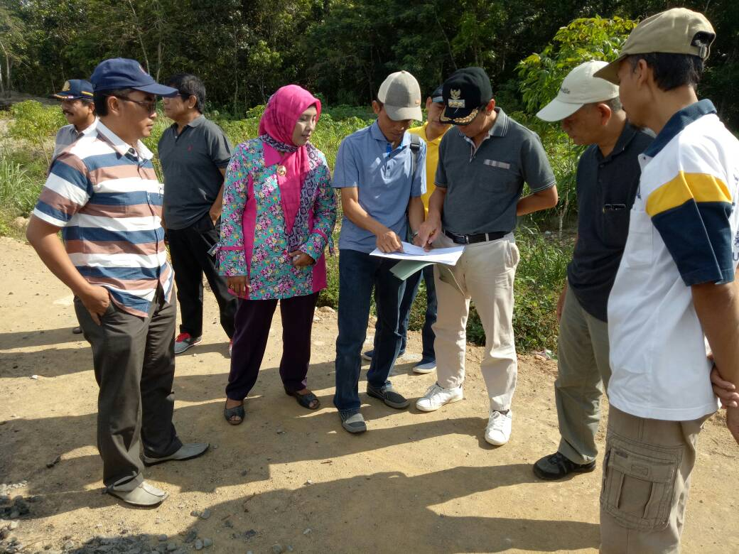 Kunjungan Bupati Kebumen di calon lokasi Kawasan Industri ( Desa Tegalretno, Karanggadung, dan Karangrejo ) Kecamatan Petanahan